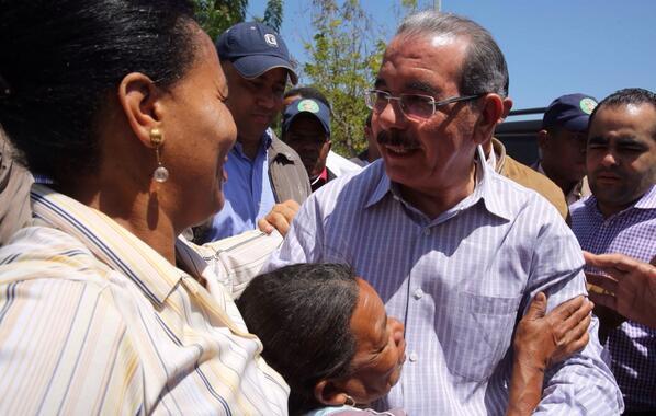 Presidente visita comunidades de San Juan de la Maguana