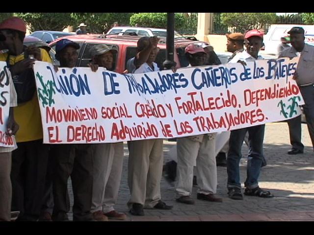 Cañeros concluyen jornada de manifestaciones en reclamo de pensiones