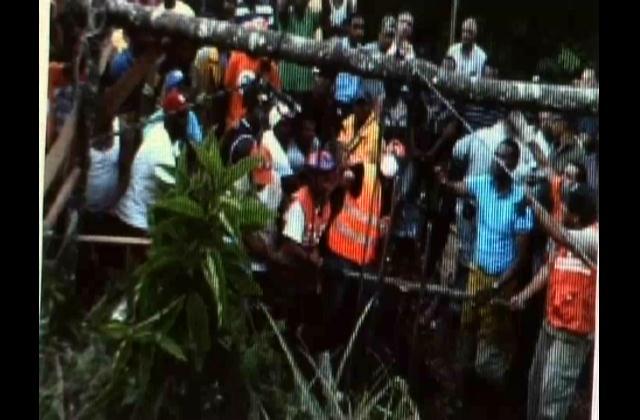 Recuperan cadáveres de los tres fallecidos en mina de Restauración