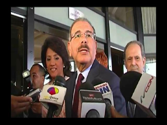 Medina asegura pasará la semana en consultas por sentencia 168-13