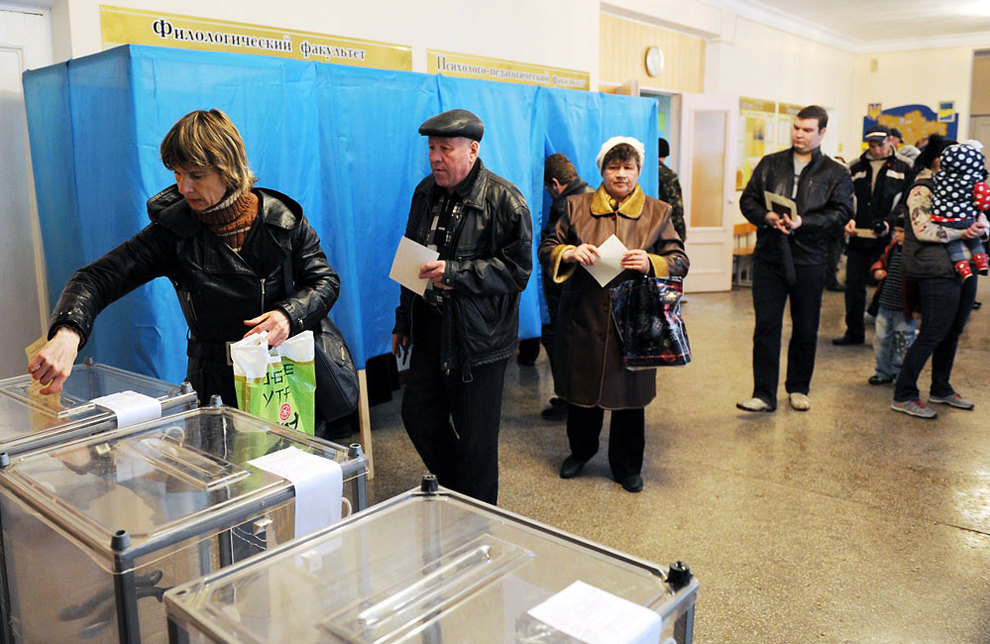 Un 96.77% a favor de la reunificación con Rusia, según cifras definitivas