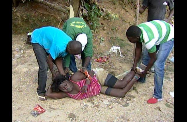 Amarran y golpean brutalmente a una mujer en Pantoja