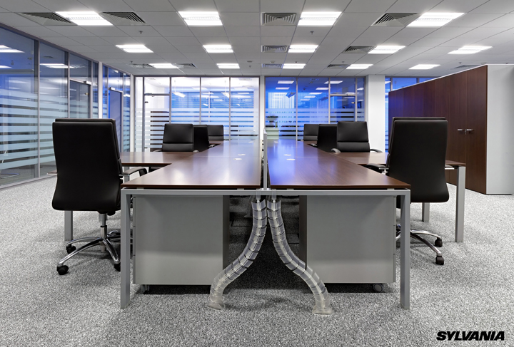 Cuidado con la iluminación en su ambiente de trabajo