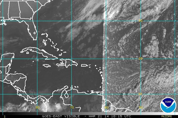 Meteorología prevé chubascos aislados en horas de la tarde