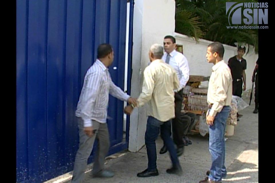 Momentos de tensión en la Casa Nacional PRD