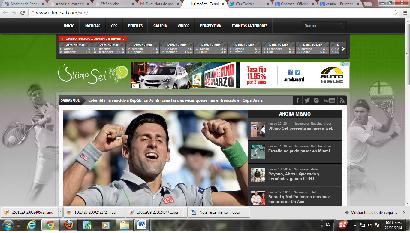 Lanzan Último Set, primera web especializada en tenis de RD