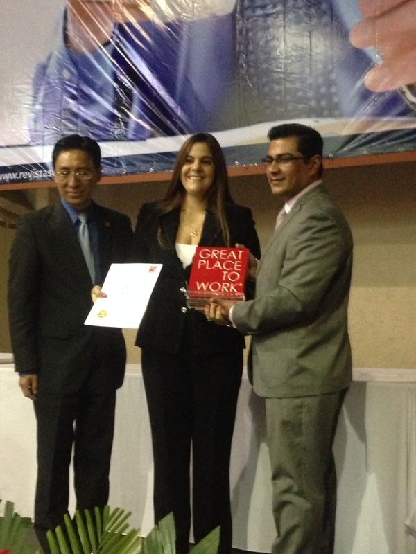 APAP es seleccionada como mejor empresa para trabajar en el Caribe