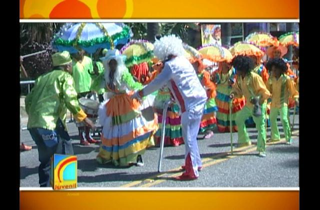 Más de 100 comparsas del país participaron en el carnaval infantil