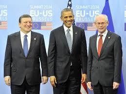 Comienza la cumbre entre UE y EEUU con crisis ucraniana y espionaje de fondo