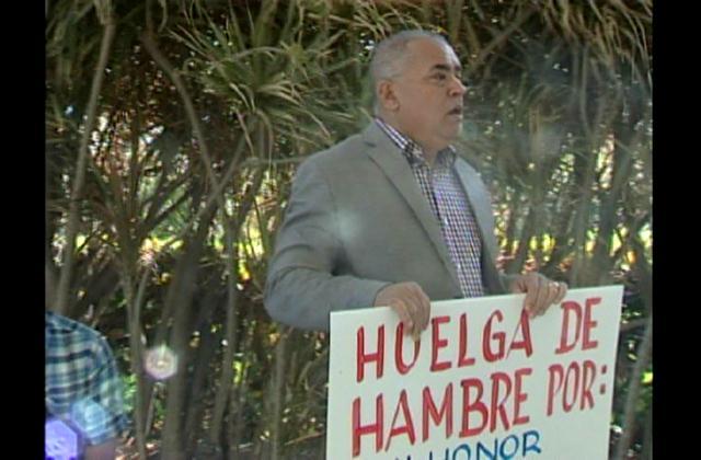 Destituido fiscal de Ocoa inicia huelga de hambre en Procuraduría