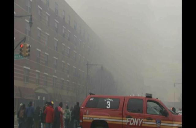 Aumenta el número de heridos tras explosión en edificio de Nueva York