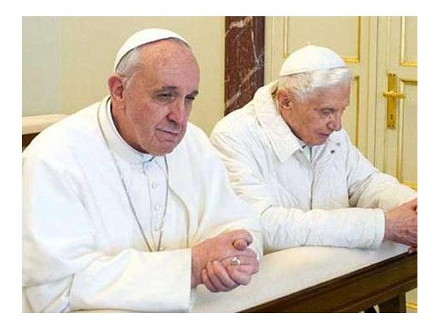 Francisco ha invitado a Benedicto XVI a las canonizaciones de los dos papas