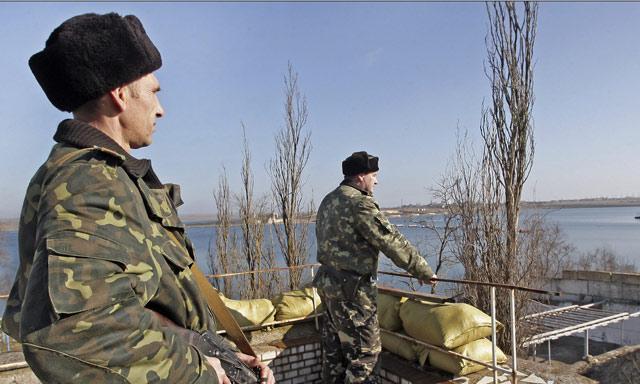 Hombres armados bloquean ocho destacamentos de los Guardafronteras de Ucrania