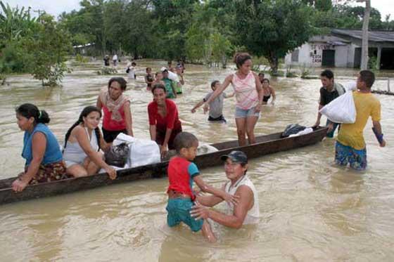 Lluvias en Colombia dejan cuatro muertos y ocho desaparecidos