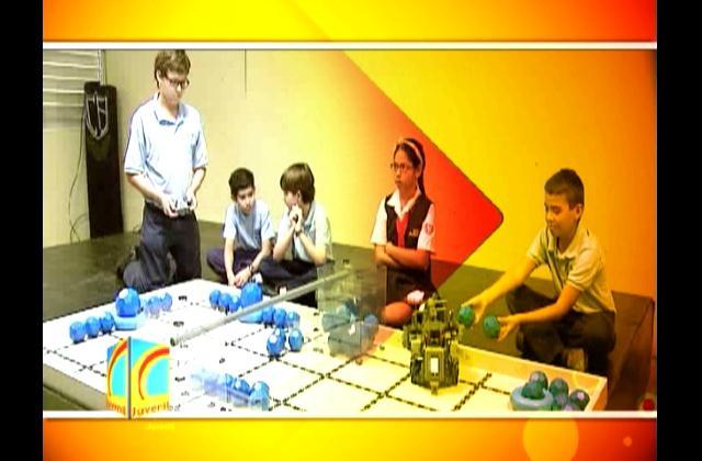 Realizan competencia de robótica en escuela elemental de EE.UU