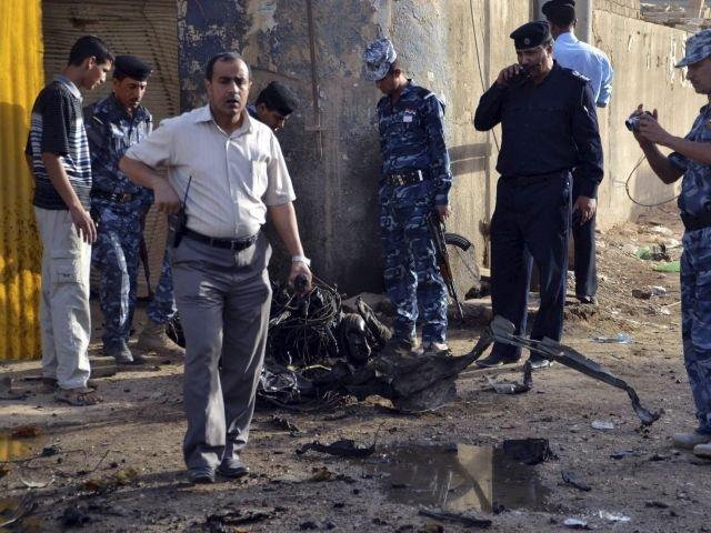 34 Muertos y 150 heridos en ataque suicida contra puesto policial en Irak