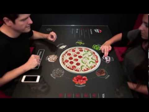 Pronto en Pizza Hut podrás crear tu propia pizza táctil