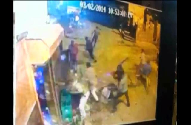Decenas de apresados por ataque a machetazos en Los Alcarrizos