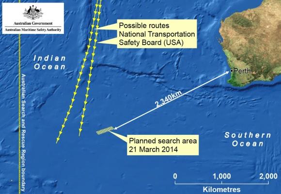 Búsqueda submarina en el Índico a punto de concluir sin rastro del MH370