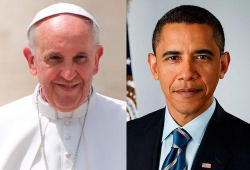 Obama ve al papa