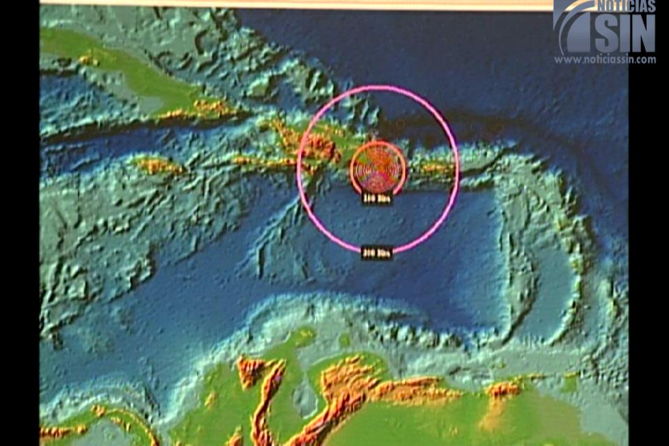 Meteorología realiza simulacro de tsunami
