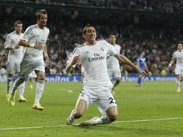 Di María adelanta al Real Madrid a los once minutos