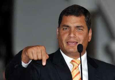 Correa celebra el inicio del diálogo entre Gobierno y oposición en Venezuela