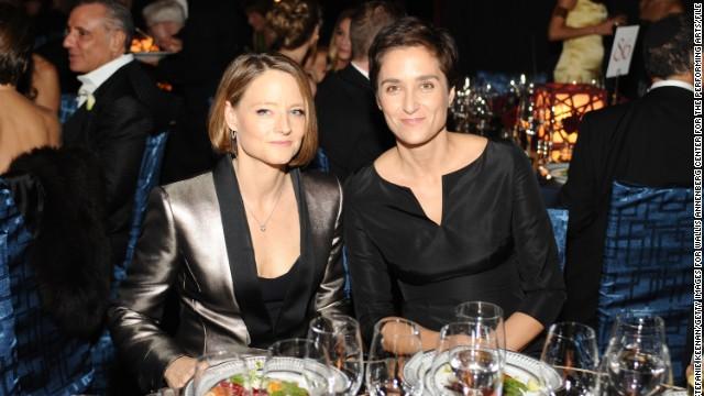 Jodie Foster se casó con su novia Alexandra Hedison el fin de semana