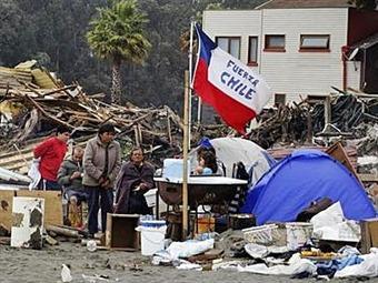 Otra fuerte réplica de 7,8 grados en norte de Chile