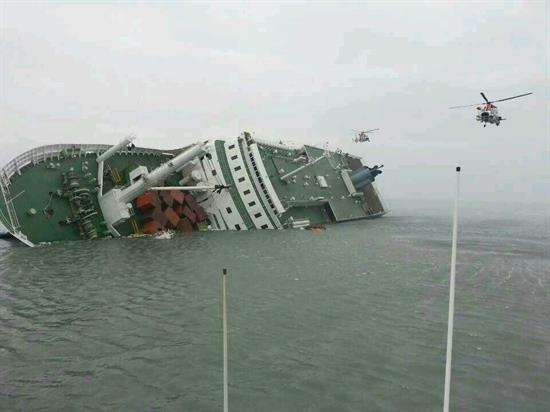 Dos muertos y 290 desaparecidos en naufragio de un buque surcoreano