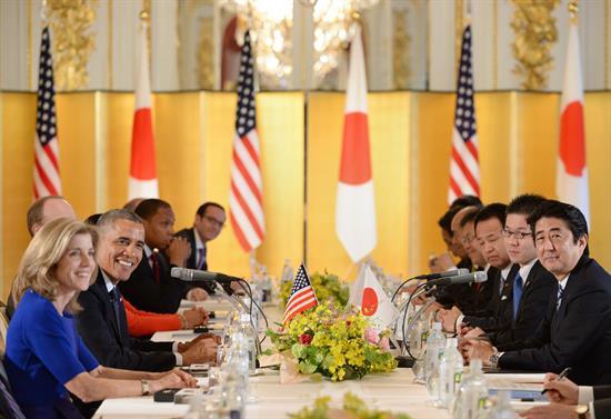 Obama culmina su visita a Japón  tras subrayar apoyo militar de Washington