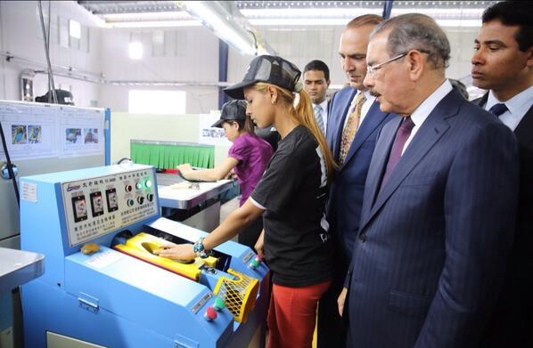 Nueva empresa de calzados aportará 11,500 empleos en Tamboril