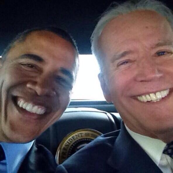 Biden publica una autofoto con Obama en su nuevo Instagram
