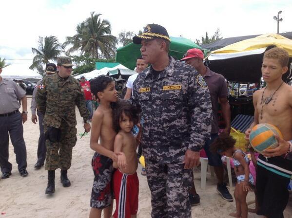 Jefe PN supervisó playas del litoral Este