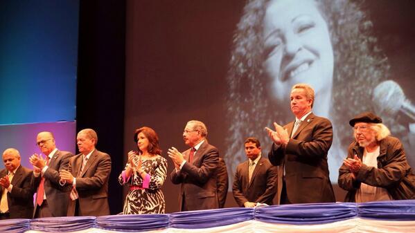 Presidente Medina inaugura Feria Internacional del Libro 2014