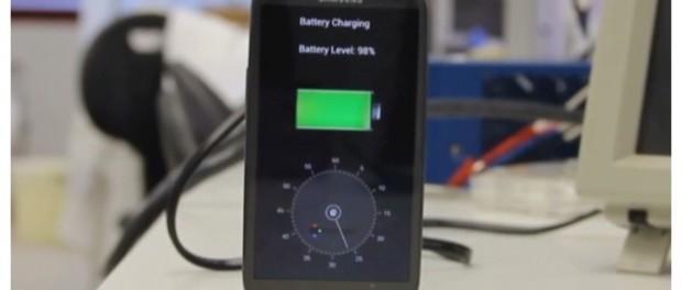 Crean prototipo de tecnología que carga batería de celular en 30 segundos