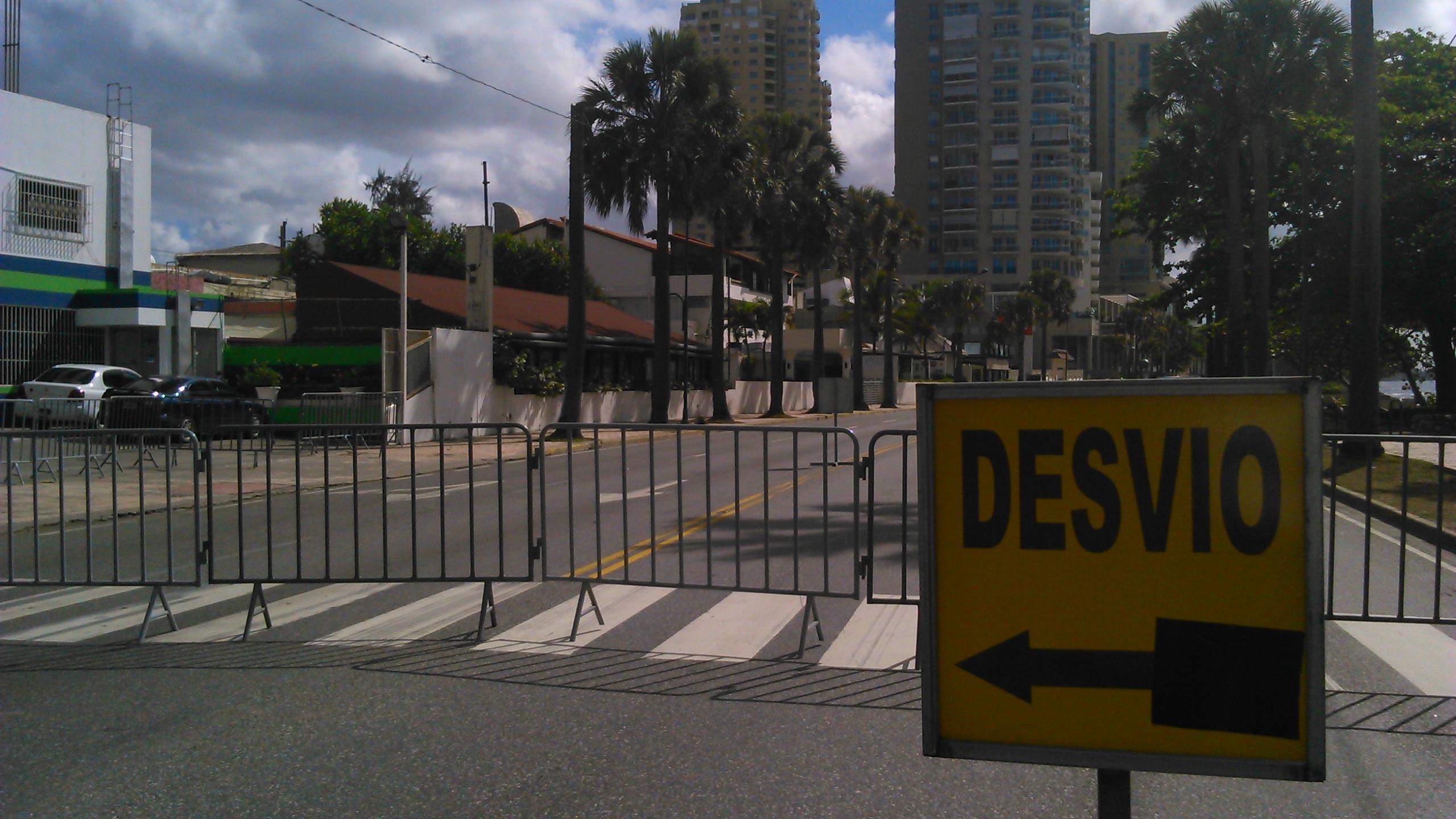 Santo Domingo cambia su agitado ritmo por uno de retirada