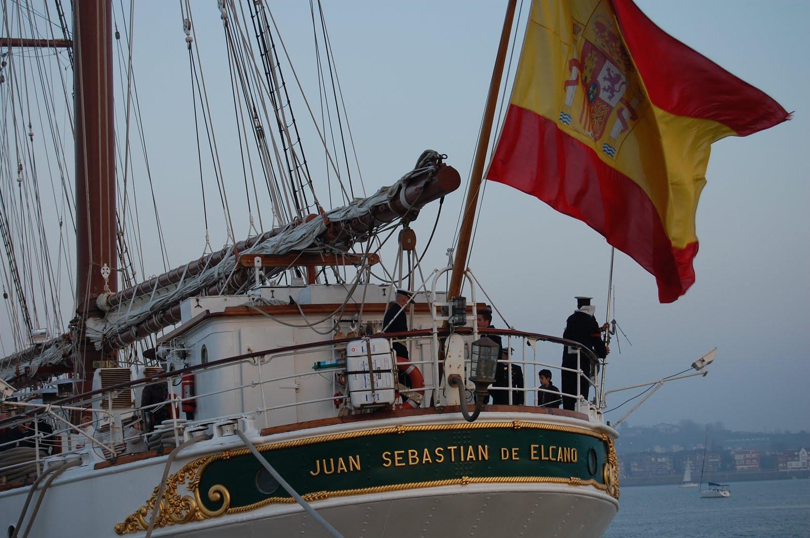 Buque escuela de la Armada Española arriba a puerto de San Souci
