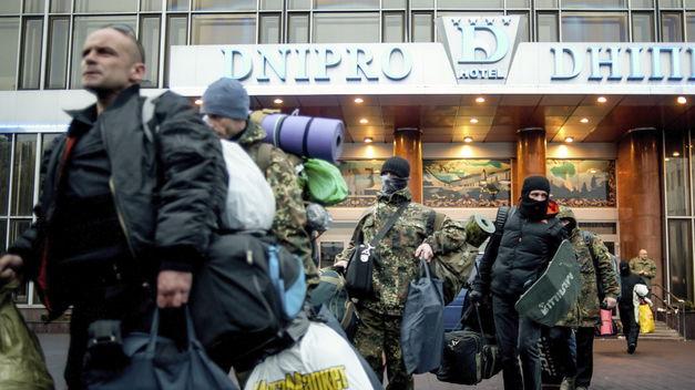 Tres heridos en Kiev en un tiroteo efectuado por un radical de ultraderecha