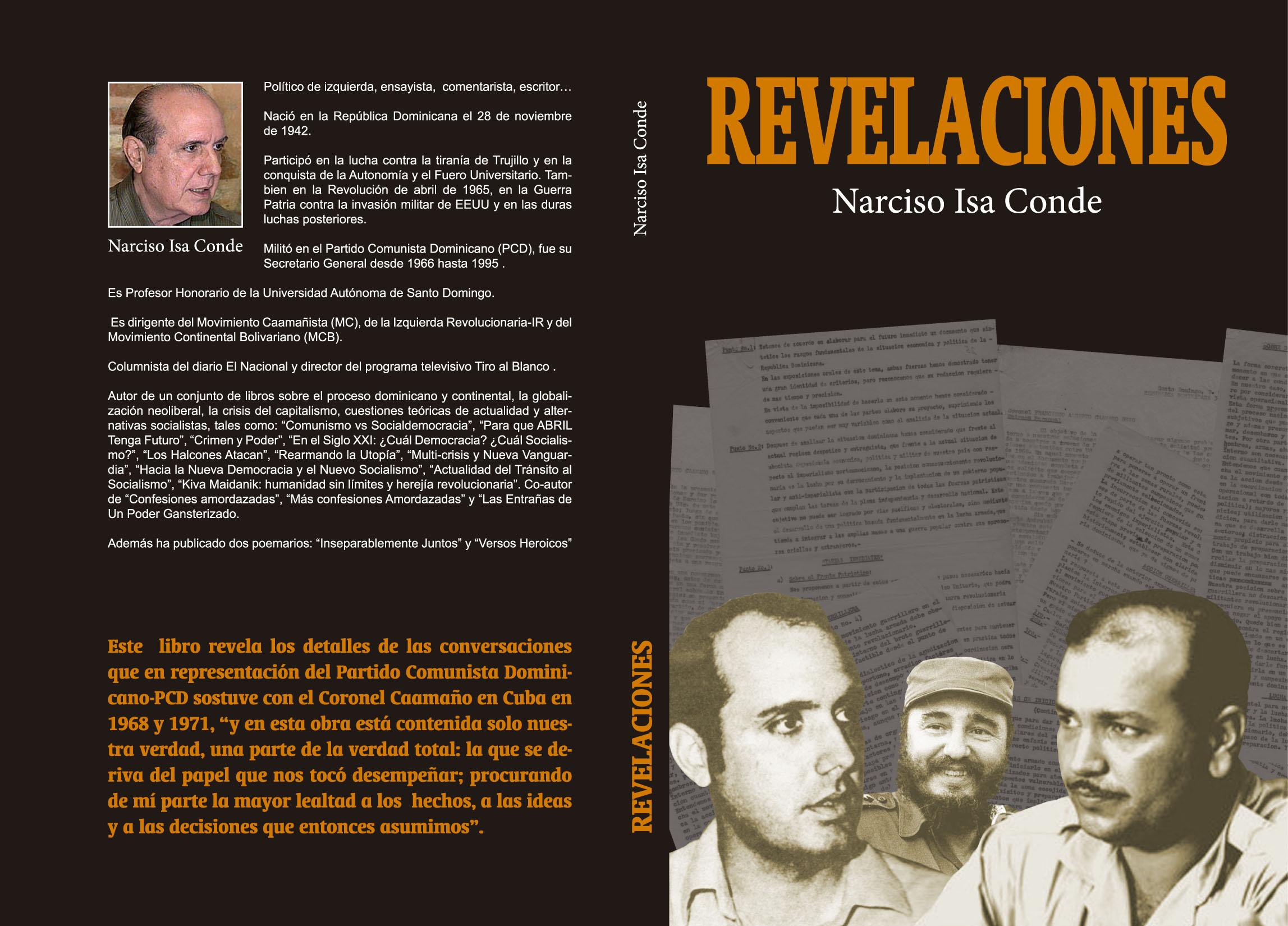 Revelaciones, el nuevo libro de Narciso Isa Conde