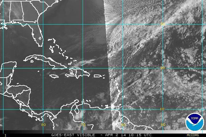 Meteorología prevé lluvias por vaguada casi estacionaria en RD