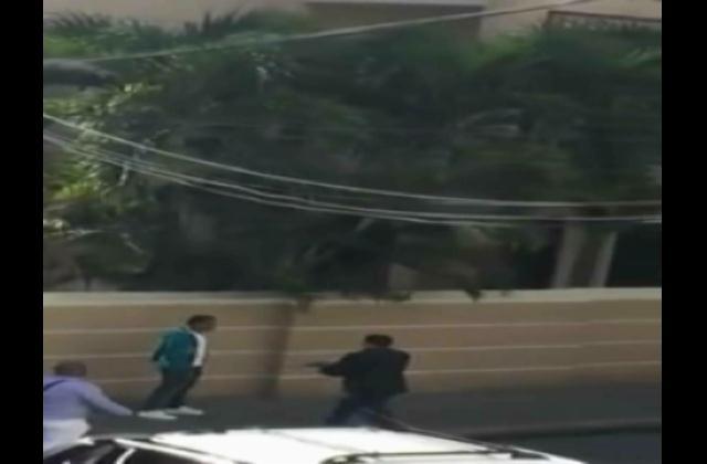 A quemarropa sargento mayor de la Policía hiere a un motoconcho en medio de discusión
