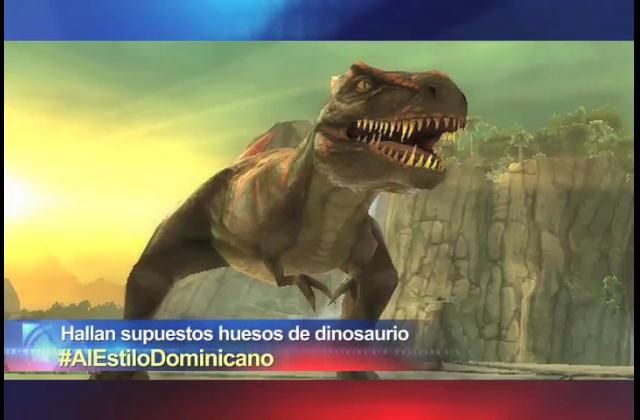 TrompoLoco habla del supuesto descubrimiento de huesos de dinosaurio en el país