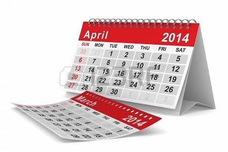 Agenda para este jueves 10 de abril