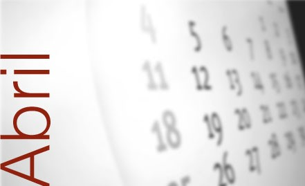 Agenda de actividades para este miércoles 30 de abril