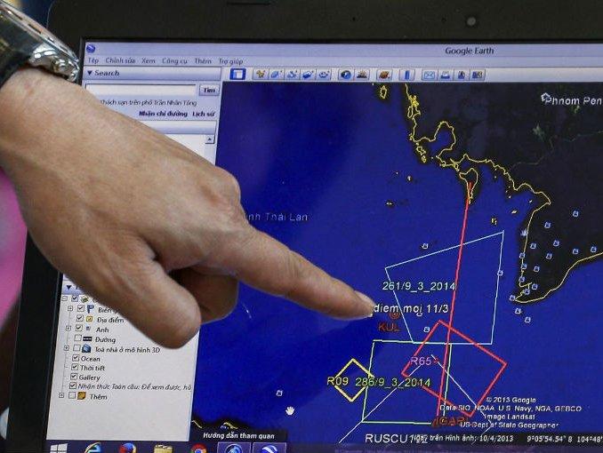 Buque patrulla chino en busca de avión desaparecido detecta señal de pulsos