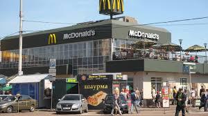 McDonalds cerrará sus tres locales en Crimea ante sanciones económicas