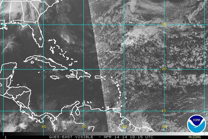 Lluvias aisladas para este lunes, informa Meteorología
