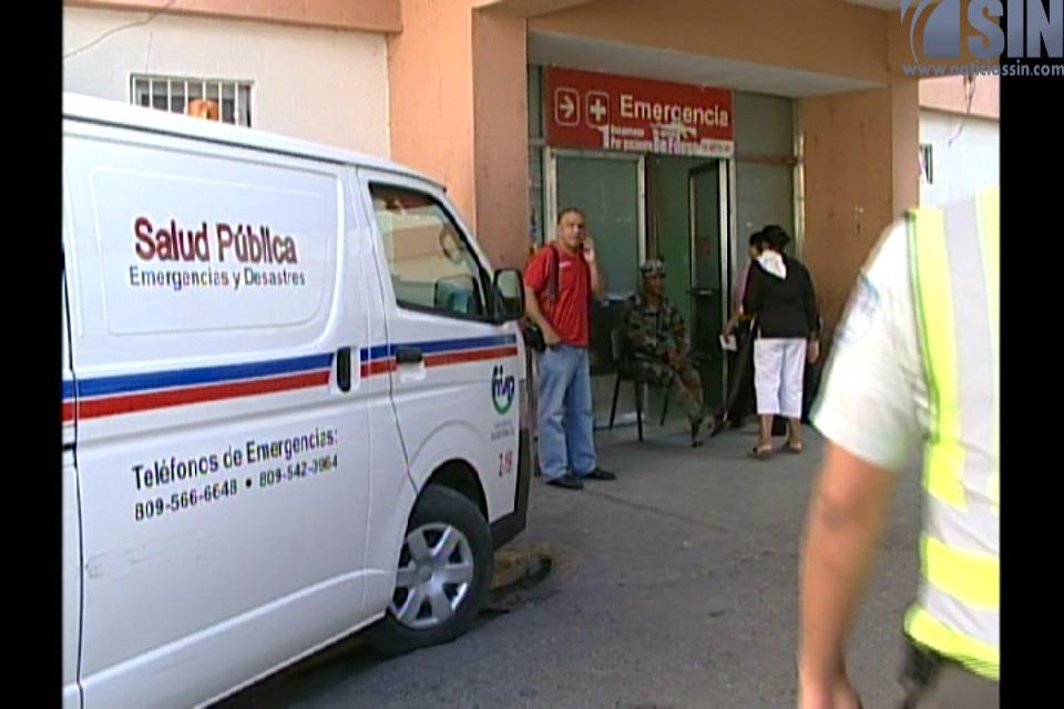 Hospitales abastecidos para atender emergencias