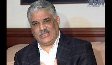 Secretario de PRD dice MVM está dispuesto a negociar con otros dirigentes políticos